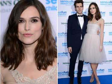 Keira Knightley re-wears wedding dress for third time