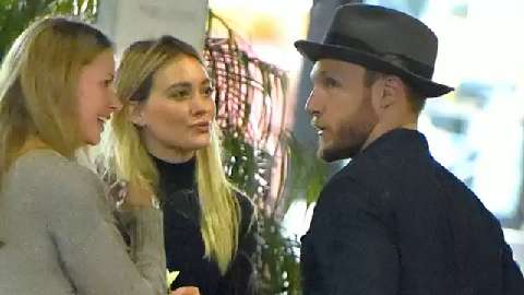 Hilary Duff might be dating this guy who is definitely not an actor