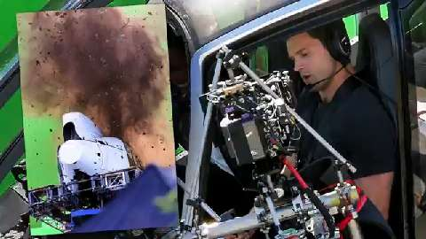 Jamie Dornan crashes helicopter on set of new 50 Shades of Grey