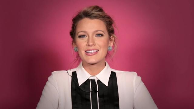 Blake Lively answers your burning questions