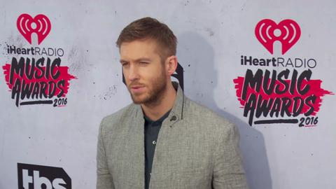 Calvin Harris can't believe Taylor Swift already met Tom Hiddleston's mom