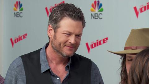 Blake and Gwen's deep connection stemmed from divorce similarities