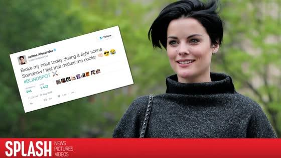 Jaimie Alexander broke her nose during a fight on 'Blindspot'